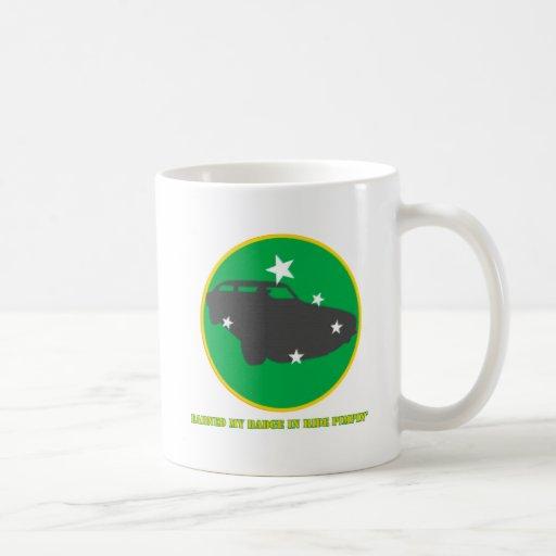 Ride Pimpin Merit Badge Coffee Mugs