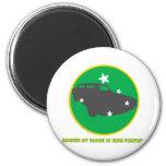 Ride Pimpin Merit Badge Fridge Magnet