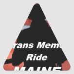 Ride Products Triangle Sticker