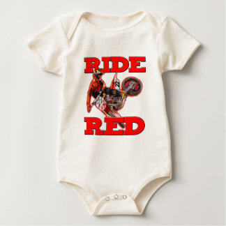 Ride ReD 13 Baby Bodysuit