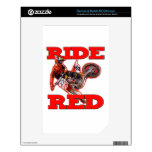 Ride ReD 13 Decal For The NOOK Color