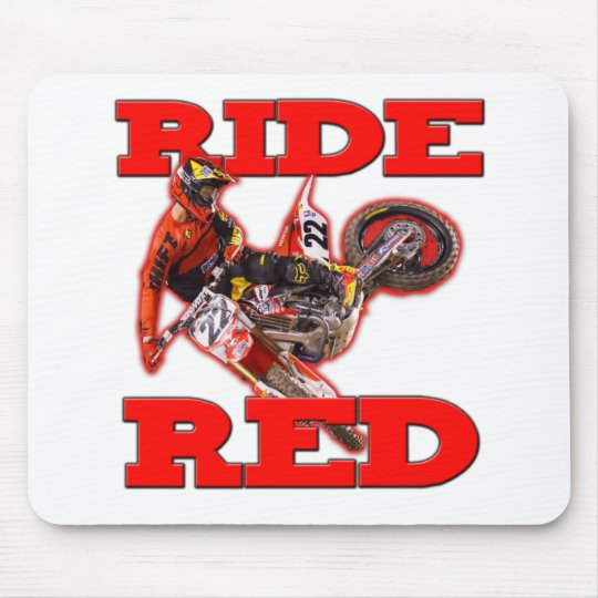 Ride ReD 13 Mouse Pad
