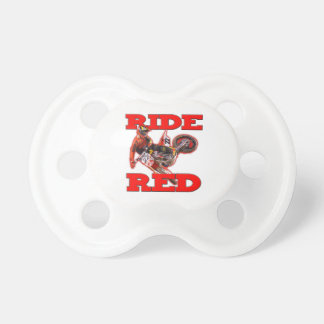 Ride ReD 13 Pacifier