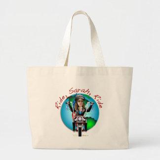 Ride Sarah Ride Canvas Bags
