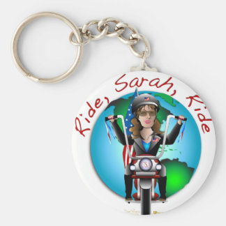 Ride Sarah Ride Keychain