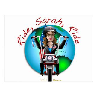 Ride Sarah Ride Postcards