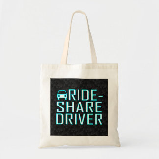 Ride Share Driver Rideshare Driving Tote Bag