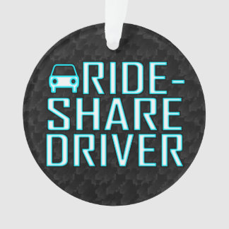 Ride Share Driving Uber Driver Rideshare Ornament