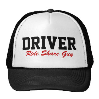 Ride Share Guy Driver Driving Hat