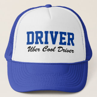 Ride Share Uber Cool Driver Driving Hat