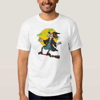 Ride Sharing Witch T-shirts
