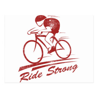 Ride Strong Postcard