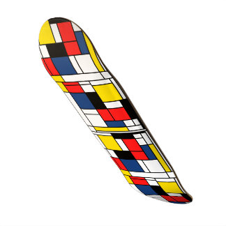 Ride the Art Wave where ever you go. Skateboard Deck