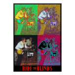 RIDE the BLINDS Poster