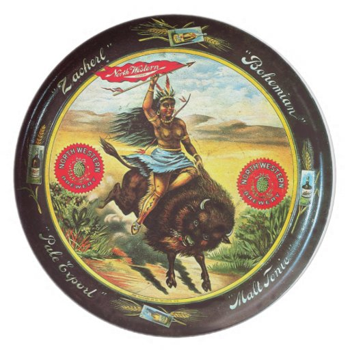 Ride the Buffalo - Plate