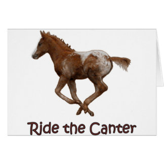 Ride the Canter Card