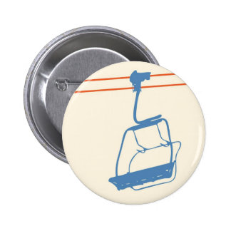 Ride the Chairlift Pinback Button