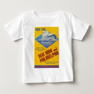Ride The Crusader-New Jersey Central Lines Baby T-Shirt