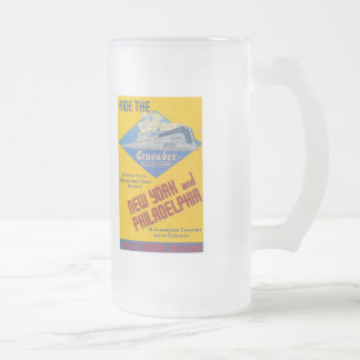 Ride The Crusader-New Jersey Central Lines Coffee Mug