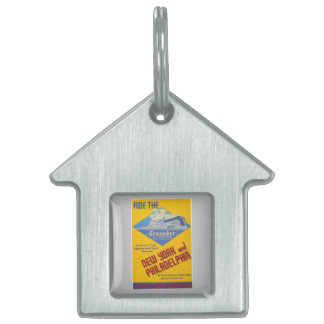 Ride The Crusader-New Jersey Central Lines Pet Tag