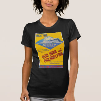 Ride The Crusader-New Jersey Central Lines T-Shirt