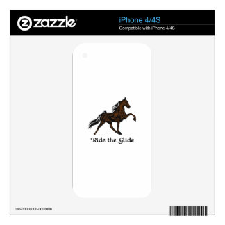 Ride The Glide Decals For iPhone 4S