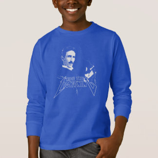 Ride The Lightning Nikola Tesla T-Shirt
