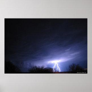 Ride the Lightning Poster
