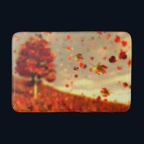Ride the October Breeze Bathmat
