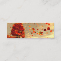 Ride the October Breeze Bookmarks Mini Business Card