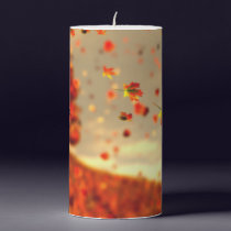 Ride the October Breeze Candle