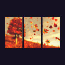 Ride the October Breeze Canvas Print