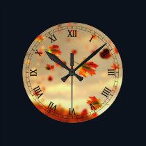Ride the October Breeze Clock