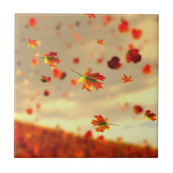 Ride the October Breeze Decorative Tile / Trivet
