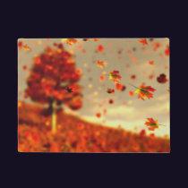 Ride the October Breeze Doormat