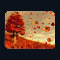 Ride the October Breeze Flexible Magnet