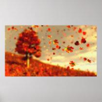 Ride the October Breeze Print