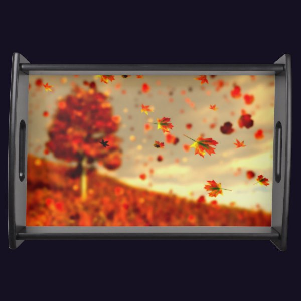 Ride the October Breeze Serving Tray