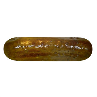 Ride the pickle! skateboard deck