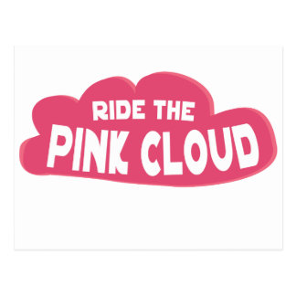 ride the pink cloud postcard