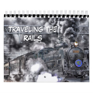 Ride the Rails Train Calendar