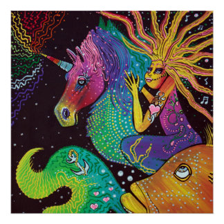 Ride The Rainbow Poster Art