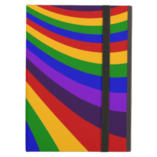 Ride the Rainbow Slide Colorful Stripes iPad Air Case