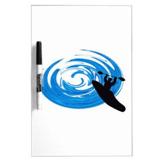 Ride the Rapids Dry-Erase Board