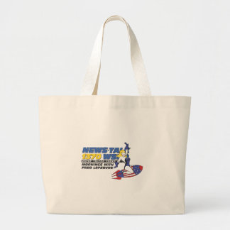 Ride the Rocket Jumbo Tote Bag