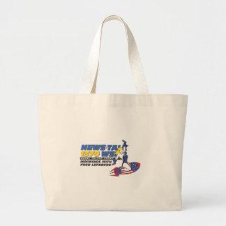 Ride the Rocket Tote Bag