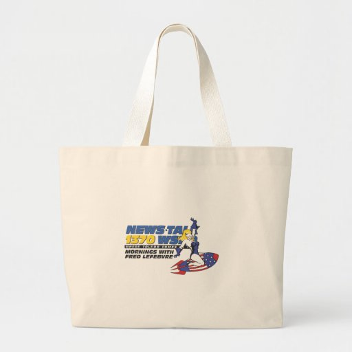 Ride the Rocket Tote Bag