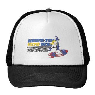 Ride the Rocket Trucker Hats