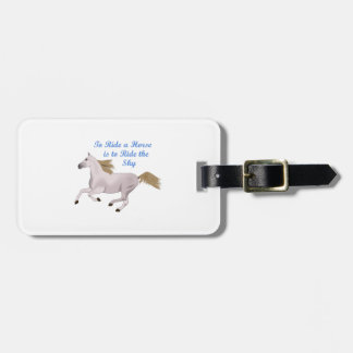 RIDE THE SKY LUGGAGE TAGS