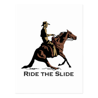 Ride The Slide Post Cards